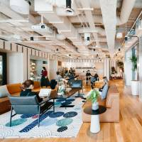 Shared office space at WeWork. | COURTESY OF WEWORK