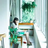 Shared office space at Nagatacho Grid. | COURTESY OF NAGATACHO GRID