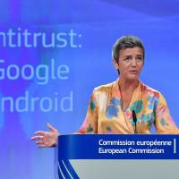 Google hit with €4.3 billion fine by EU and told to alter Android model