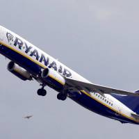 A Ryanair Boeing 737-800 passenger jet takes off in Colomiers near Toulouse, France, last October. | REUTERS