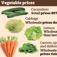 Japanese veggie prices shoot up amid heat wave; inmate dies in Aichi