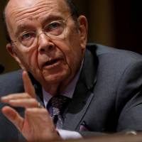 U.S. Commerce Secretary Wilbur Ross testifies before a Senate Finance hearing on 'Current and Proposed Tariff Actions Administered by the Department of Commerce' on Capitol Hill in Washington  June 20.   REUTERS