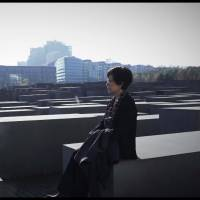 A moment for remembering: Documentary film director Masako Sakata visits the Holocaust Memorial in Berlin last October during the shooting of her upcoming film, 'Morgen.' | COURTESY MASAKO SAKATA / VIA KYODO