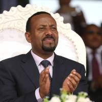 Ethiopian, Eritrean leaders meet in Asmara in bid to forge new future for two nations