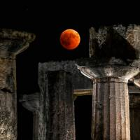 'Blood Moon' dazzles stargazers in longest lunar eclipse of 21st century