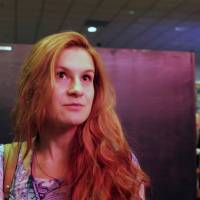 Accused Russian agent Maria Butina attends the 2015 FreedomFest conference in Las Vegas in 2015 in this still image taken from a social media video obtained July 19. | FREEDOMFEST / VIA REUTERS
