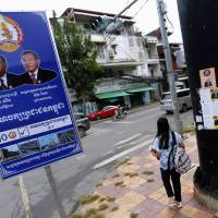 Cambodian opposition figures say they have been silenced in lead-up to election