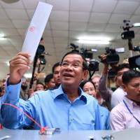 Hun Sen's Cambodian People's Party wins '80 percent of all votes' in election