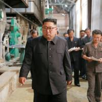 North Korean leader Kim underscores shift in focus to economy with rebukes of industrial facility officials