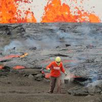 Scientists defy 'force of nature' to unlock secrets of Hawaii volcano