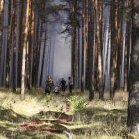 German forest fire could ignite WWII ammunition
