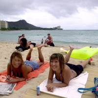 Hawaii bans sale of sunscreens with coral-harming chemicals