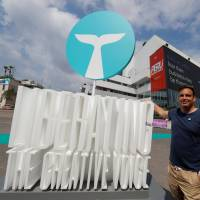 Whalar CEO Neil Waller poses at the Cannes Lions International Festival of Creativity in Cannes, France, on June 22. | REUTERS
