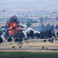 'Untold number' of civilian casualties as Russian-backed airstrikes hit Islamic State bastion in south Syria