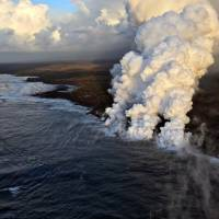 Hawaii volcano boat tours continue after 'lava bomb' injuries, but at greater distance