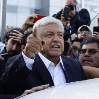 Leftist populist Andres Manuel Lopez Obrador claims historic win, broad mandate in Mexico presidential election