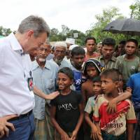 Myanmar not ready to take back over 700,000 Rohingya, Red Cross chief says