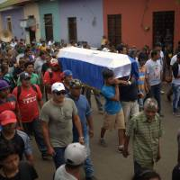 Nicaraguan students vow to keep up fight until Ortega resigns after deadly clashes