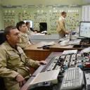 Shift operators work in a main control room of the third unit at Ukraine's Yuzhnoukrainska Nuclear Power Plant on Thursday.