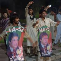 Imran Khan leads in delayed Pakistan vote count; opponents cry foul