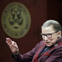 On retirement, Justice Ruth Bader Ginsburg, 85, has go-to answers for staying on