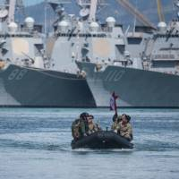 Pentagon says Chinese spy ship is watching massive U.S.-led military exercises