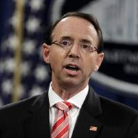 Rod Rosenstein cites growing cyberthreat by foreign adversaries against U.S. elections