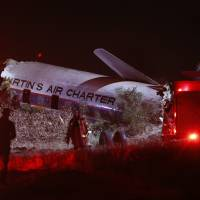 One dead, 20 injured in South Africa crash of museum-bound 1954 airliner