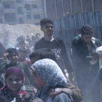 Chemical weapons watchdog finds 'chlorinated chemicals' in Douma, site of attack by Syrian regime