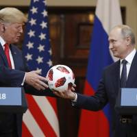 In wake of Putin summit, Trump's presidency draws criticism from all sides