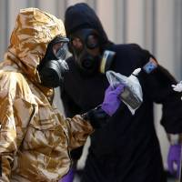 British police say Novichok could last 50 years in sealed container
