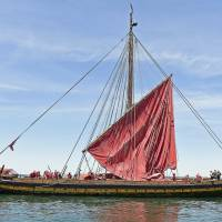 Norway-based Viking longship replica set to begin voyage along U.S. East Coast