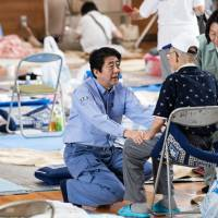 Abe takes to Twitter to thank leaders for condolences over western Japan rain deaths