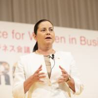 Female leaders encourage women to be confident and believe in themselves at Tokyo conference