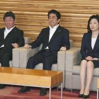 As Diet wraps up, Abe re-emerges as front-runner for LDP election