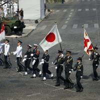 GSDF joins Bastille Day parade in Paris as Japan and France mark 160th anniversary of bilateral ties