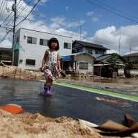 In flood-hit area of Okayama, residents shocked by scale of destruction