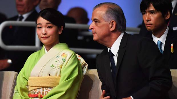 Princess Mako attends ceremony marking 110th anniversary of first Japanese immigrants' arrival in Brazil
