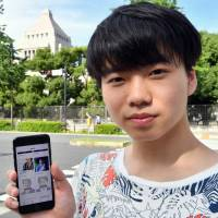 19-year-old CEO creates app to bring Japan's voters and politicians together