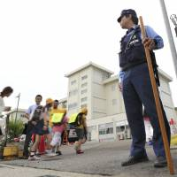 Toyama school reopens with tight security after gun attack