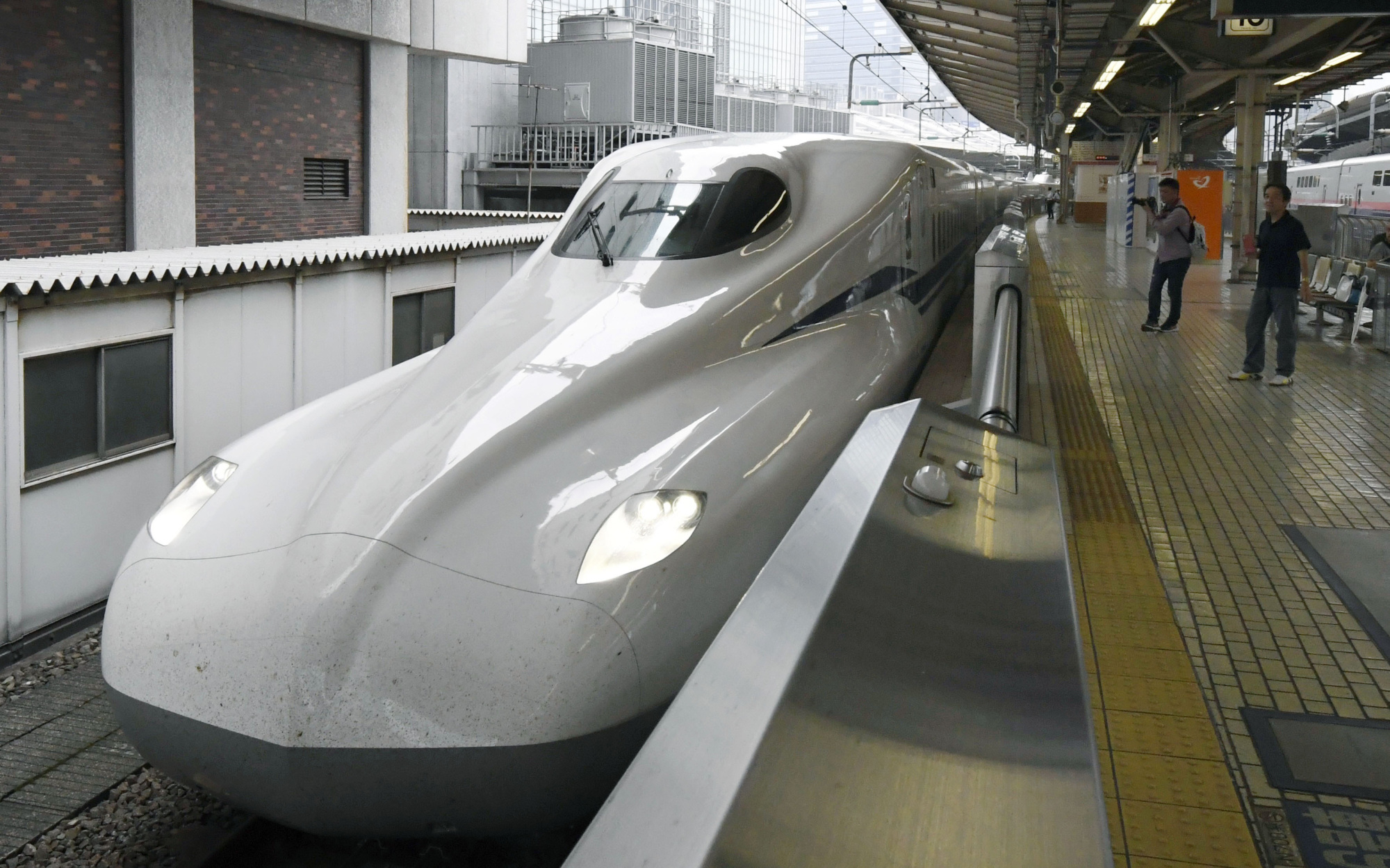 Passengers will be prohibited from carrying unpacked knives onto trains as part of new security measures.   KYODO
