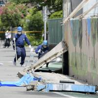 Takatsuki to remove all concrete walls 1.2 meters tall or higher following school girl's death in Osaka quake