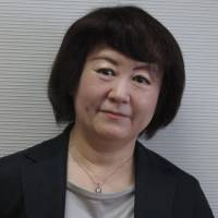 Departing words: The outgoing artistic director for drama at the New National Theatre, Tokyo, says she believes that 'today's theater was built up by hundreds of forerunners' wisdom and their works.' | NOBUKO TANAKA