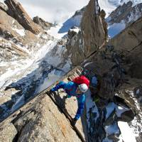 Not-so-central players: Climbers like Ben Briggs play second fiddle to icy peaks and classical music in Jennifer Peedom's 'Mountain.' | © 2017 STRANGER THAN FICTION FILMS PTY LTD AND AUSTRALIAN CHAMBER ORCHESTRA PTY LTD