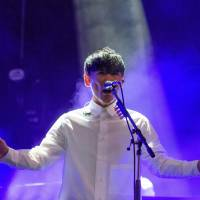 Time for some action: Ichiro Yamaguchi's Sakanaction was one of the biggest Japanese acts added to the Fuji Rock roster this year.   JAMES HADFIELD