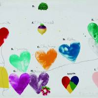 Jim Dine's 'The World (for Anne Waldman)' (1971-72)   PROMISED GIFT OF THE ARTIST, L-G 163.49.2006, PHOTOGRAPH © MUSEUM OF FINE ARTS, BOSTON