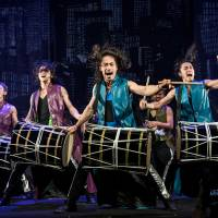 The perfect beat: Members of Drum Tao get fired up in a scene from the group's latest production, 'Jiku Ryokoki' ('Travel Book of Space-Time'). | © DRUM TAO