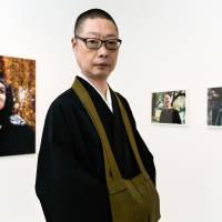 Monk with a mission: Akiyoshi Taniguchi is the head priest at Chohouin Temple in Tokyo. An self-described 'photo boy,' he built a white room that serves as a photography gallery on the premises of his temple. | DAN SZPARA