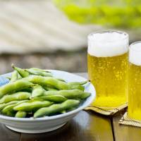 Summer living: Edamame are perfect with a beer or two.   GETTY IMAGES