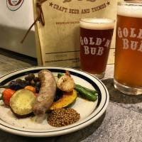 Homemade: Sausages, pan-fried and paired with local vegetables. | ROBBIE SWINNERTON